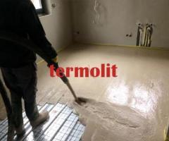 posadzki wylewki anhydrytowe na ogrzewanie podłogowe